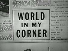 WORLD IN MY CORNER (1956) DVD AUDIE MURPHY, BARBARA RUSH