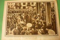 Pro Familia 1936 Biella Party Centenary Foundation Of Soldiers By Lamarmora