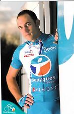 CYCLISME carte cycliste CLAUDE MATHIEU équipe BOUYGUES TELECOM 2009
