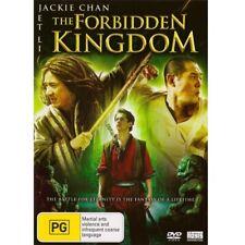 The Forbidden Kingdom (DVD, 2008) PAL Region 4 (starring Jackie Chan & Jet Li)