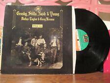 "CROSBY,STILLS,NASH,YOUNG LP ""Déjà vu"" 1970 (Noir)"