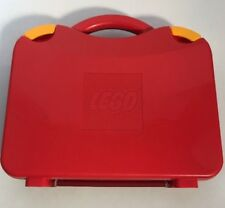 Red Lego Travel Storage Container Carry Case 2012 Storage Box