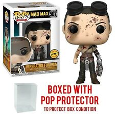 Funko Mad Max Furiosa with Goggles (Bloody)  Imperator  Chase w/Protector