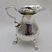 1758 George ll Antique Solid Silver Creamer Cream Jug (1133-9-VOS)