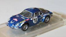 miniature 1/43 Alpine A110 Monte Carlo 73 JC.Andruet kit monté Provence Moulage