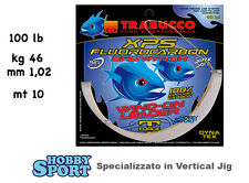 WIND-ON con FILO FLUOROCARBON XPS TRABUCCO LB 100  1,02mm  KG 46   MT 10