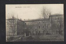SAINTE-CECILE (84) ECOLE , Cliché période 1910-1920