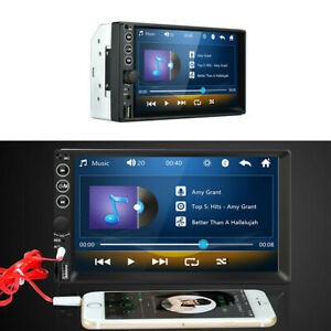Touch Screen Bluetooth Stereo Radio MP5 Player USB/TF/ FM Fit For Car Truck SUV