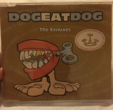 Dog Eat Dog. No Fronts: The Remixes. 4 Track CD Single.1995. Jam Master Jay.