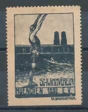 608958) Vignette Schwimmverein München 1899