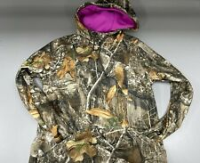 NWT Under Armour Pink Camouflage Womens Size S Hoodie Realtree Cold Gear $