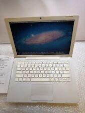 "+ Apple MacBook 2008 EARLY A1181 C2D 2.1ghz 13"" 2G+160G GMA-X3100 144MB OS 10.7"