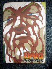 BAKI the Grappler Animation Collection II 6 x DVDs in Fine Condition Madman
