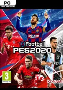 eFootball PES 2020 PC Game Offline S Team Fast Post UK Great Condition