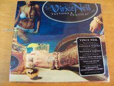 VINCE NEIL TATTOOS & TEQUILA CD SIGILLATO DIGIPACK MOTLEY CRUE