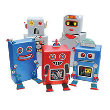 Robot Gift Wrap Cute Gift Wrapping Kit Birthday Kids New Genuine Luckies