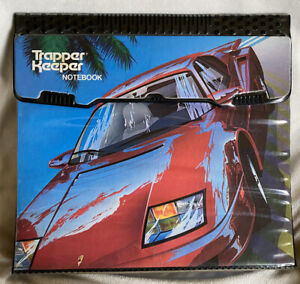 Barely Used! Trapper Keeper Notebook with Red Ferrari- Really Good Shape