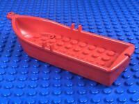 LEGO LEGOS One NEW FLOATABLE Boat  14 X 5 X 2  with Oarlocks  BROWN