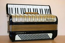 Accordion Hohner Concerto IV 120 Bass Akkordeon Fisarmonica +Case Free Shipping!