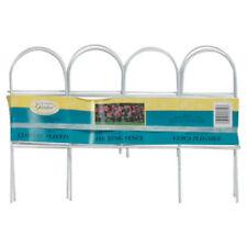 "Panacea 89319 Arch Folding Fence, White, 10"" x 10' Long"