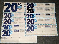 10 Bed Bath & Beyond Coupons: 20% Off/Item- Can Use Multiple Coupons/Transaction