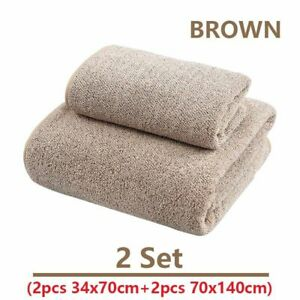 70x140cm Bath Towel For Adults Bamboo Charcoal Coral Velvet Soft Absorbent Towel