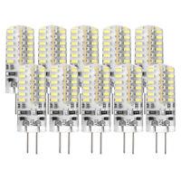 10 pezzi G4 3W Lampada LED Light Bulb 3014 SMD DC 12V 6000-7000K freddo Bia O2T0