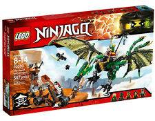 Lego 70593 Ninjago The Green NRG Dragon Building Set