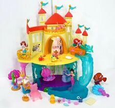 The Little Mermaid Castle Undersea Playset Mattel 2012 Magiclip Doll Disney Set