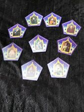 harry potter chocolate frog cards 9 Card Set