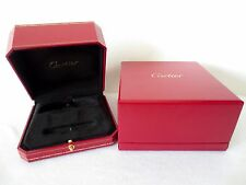 Genuine Cartier Presentation Love Bracelet Box Box Red VERY QUICK SHIPPING