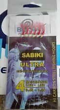 NEW BY BLUSPIN SABIKI SHRIMP ULTRA FINALI PREDA SICURA DA BOLENTINO  SIZE: 4