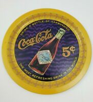 Coca-Cola Tray Coke Round Beer Soda Advertising 75th Anniversary Numbered Lim Ed