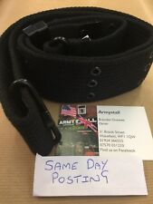 SALE LC-1 US ARMY MILITARY PISTOL BELT ALICE WEBBING LC1 SECURITY PATROL BLACK