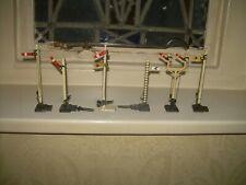 6 Crescent/Hornby OO Gauge Metal Signals
