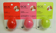 eos ® evolution of smooth Lip Balm Sphere Variety Flavors 3 Pack