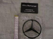 Mercedes-Benz W213 E-Class Rear Boot Lid Or Bonnet Badge Star Gloss Black