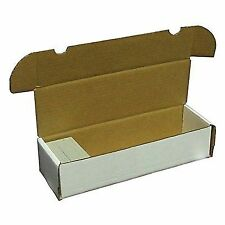 2 BCW 660 Count Cardboard Card Storage Boxes Trading Sports Holder Case Baseball