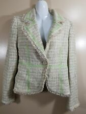 Guess Collection Women's Jacket Fall Straw Size Medium M
