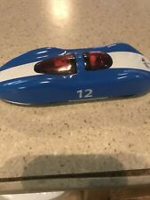 SCHYLLING Abarth RACE CAR # 12 TIN SPARK FRICTION TOY CAR (WORKS)