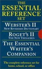Houghton Mifflin Essential Desk Reference Set, Paperback, 3-Book Set 0618952373