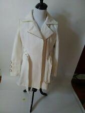 NEW Bebe Ivory coat top dress trench XL