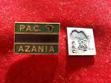 Political   pins  badges  PAC AZANIA