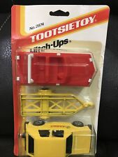 """Vintage Tootsietoy """"Hitch-Ups"""" VW Rabbit with Boat & Trailer, Brand New! 1985"""