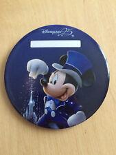 Exclusive Badge Button Mickey Disneyland Paris 25 anniversaire anniversary