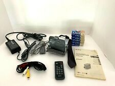 Sony Handycam Dcr-Hc21 Mini Dv Camcorder~charger~x Battery~4 tapes+Accessories