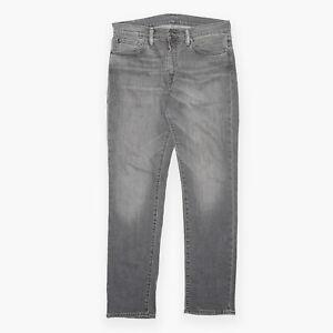 LEVI'S 511 Grey Denim Slim Straight Jeans Mens W32 L32