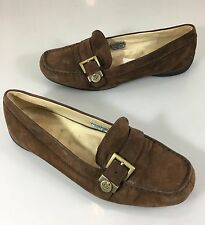 UGG Australia Womens 7 Crawford Brown Suede Driving Moccasins Flats Loafers