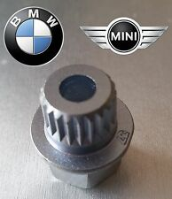 BMW, MINI LOCKING WHEEL NUT KEY ABC 37 / 21 POINT SPLINES - NEW 17mm socket