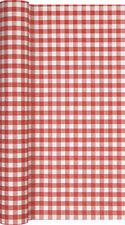 Rote Tischläufer